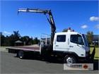2000 Mitsubishi Fuso FIGHTER FK617 Crane Truck