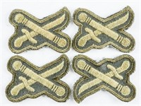 Lot (4) Canadian Army General's Rank Garrison Unif