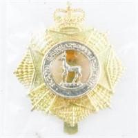 Queen's Crown - Sask. Regt. Cap Badge, Unissued, S