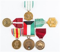 Group (6) US Medals