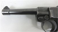 German Gesichert Luger Marked S/42 and 1936