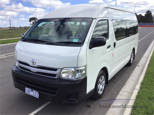 2013 Toyota Hiace KDH222R Commuter High Roof Super LWB - Buses for Sale