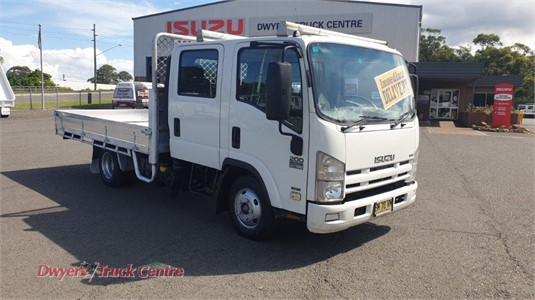 2012 Isuzu NNR 200 Crew Cab AMT Dwyers Truck Centre - Trucks for Sale