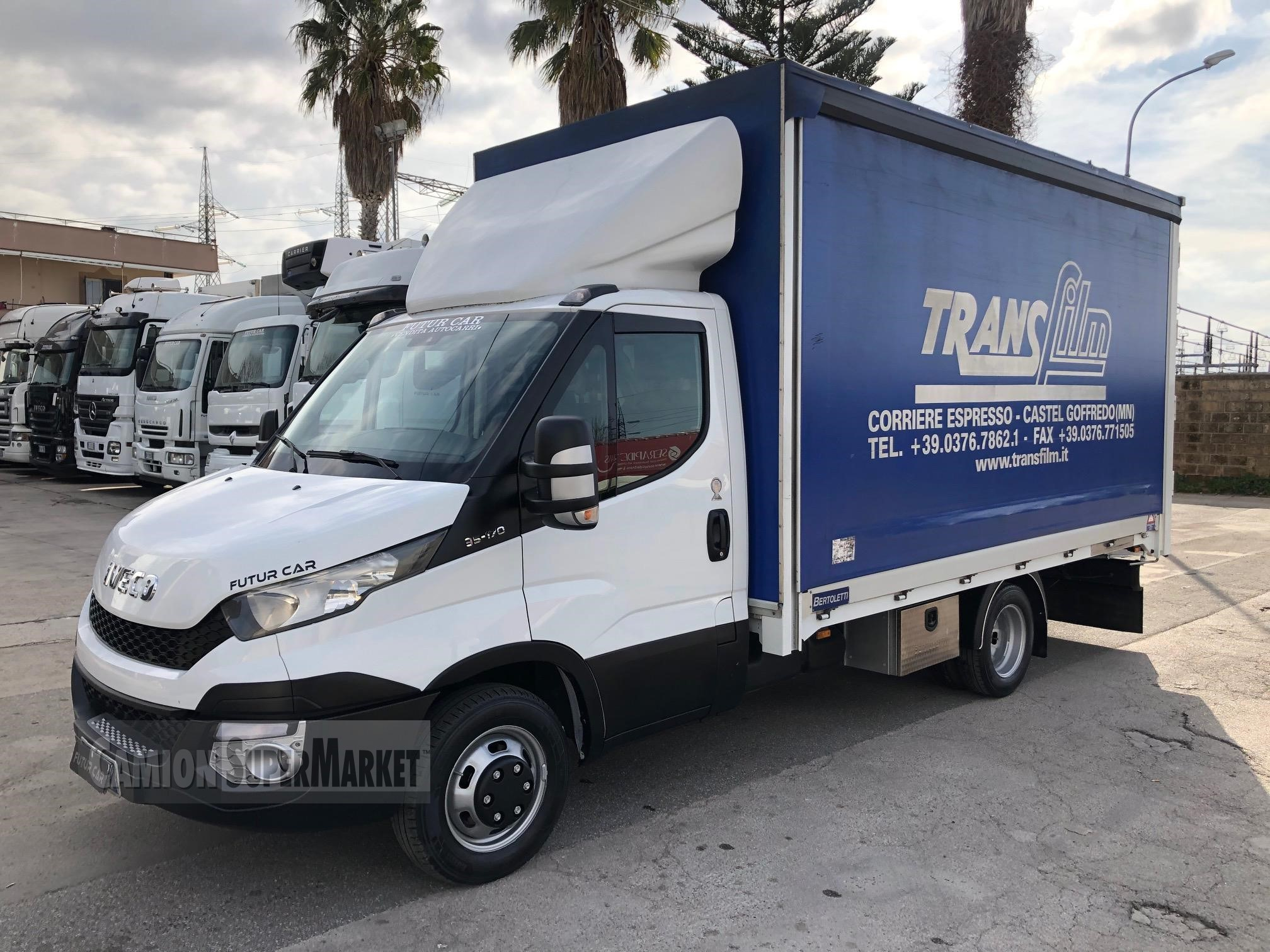 Iveco DAILY 35C17 used 2015