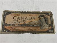 Canadian $2 bill