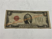 Red Seal $2 bill