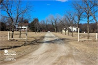 Salina KS Country Home on Acreage For Sale w/ River Frontage