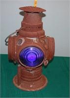 Adrake Chicago Antique Railroad Lantern