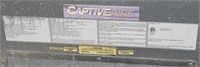 "Captive-Aire Exhaust Hood-140"" x 55""D"