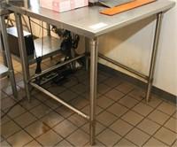 John Boos Model ST6-3636SBK Work Table, SS