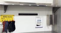 John Boos Model BHS1296 SS wall mtd shelf