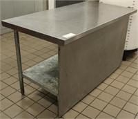 John Boos Model FBLG6030-X SS Work Table