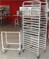 (2) sheet pan racks, 1-Winco ALRK-15