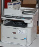 OKI MB461 Copier/Printer/Scanner with toner cartri