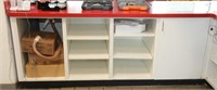 Custom built Front Service counter, L-shaped