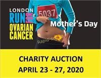 Run for Ovarian Cancer Auction - London