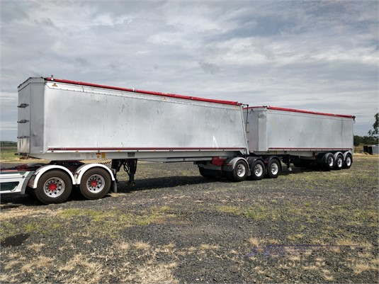 2013 Gippsland Tipper Trailer Wheellink - Trailers for Sale