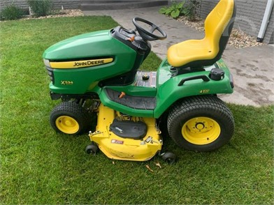 John Deere Riding Lawn Mowers Online Auctions 77 Listings Auctiontime Com Page 1 Of 4