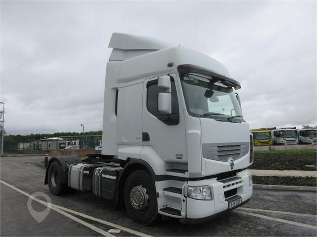 2011 RENAULT PREMIUM 450 at TruckLocator.ie