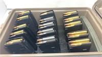 Ammo Can Of 16 Mags Of 5.56x45mm For AR Rifles