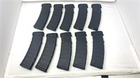 10 40 Rd Polymer Mags Of 5.56x45mm For AR RIfles