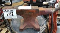 Huge 154lb. 1895 HAY BUDDEN Blacksmith Anvil