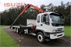 2005 Isuzu FVY 1400 Crane Truck