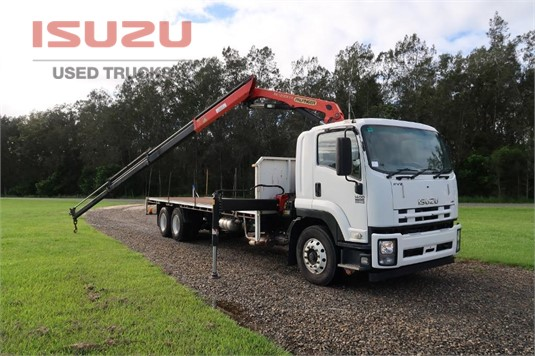 2015 Isuzu FVZ 1400 Long Used Isuzu Trucks - Trucks for Sale