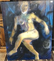 122 - NUDE ART OF A WOMAN - SEE PICS FOR COND.
