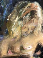 122 - NUDE WOMAN ART WORK - SEE PICS