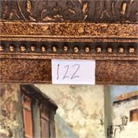 122 - SIGNED & FRAMED HOMEFRONT WALL ART