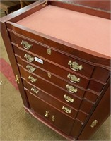 793 - BEAUTIFUL UPRIGHT JEWLERY CABINET
