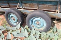 16' Tandem Axle Feed Trailer