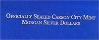 "LOT OF 3 ""CC"" SILVER MORGAN DOLLARS UNCIRCULATED"