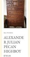 31 - ALEXANDER JULIAN ANTIQUE DRESSER