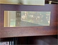 THE WASHINGTON LIMED EDITION GRANDFATHER CLOCK