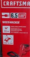 "C - CRAFTSMAN 6.5 AMP WEED WACKER 14"""
