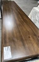 43 - NEW WMC HAWTHORNE SCALLOPED LEG CONSOLE TABLE