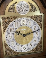 11 - BEAUTIFUL TEMPUS FURGIT GRANDFATHER CLOCK