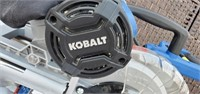 KOBALT 10IN COMPACT SLIDING DUAL BEVEL MITER SAW