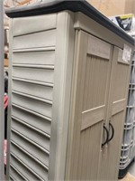 C - RUBBERMAID STORAGE SHED (C)