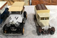 34 - LOT OF 5 DIE CAST COLLECTABLE CARS - SEE PICS
