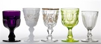 Sample of Greene goblet collection