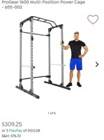 NEW FUEL PUREFORMANCE 6-FOOT FULL CAGE POWER RACK
