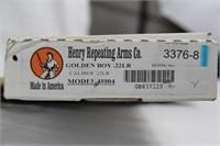 Henry Golden Boy KS 2nd Amend. 10of10 - .22LR NIB