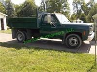 1973 Chevy 1 ton Dump Truck