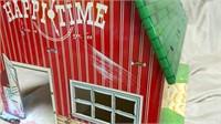 Happi-Time Metal Farm Set w/Box