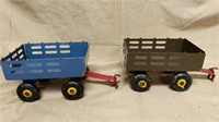6 Piece Group of Trailers