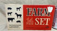 Ohio Art Farm Set 192 & 24 Cows