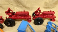 Large Lot Marx & Other Plastic Items